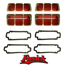 1972 Olds Cutlass & 442 Tail Light Lens Set with Gaskets Oldsmobile 72