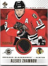 ALEXEI ZHAMNOV 2002 PACIFIC PRIVATE STOCK PATCH VARIATION 2C GAME USED PATCH