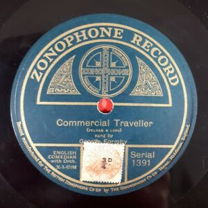 Rare 78 rpm record - George Formby Snr. - Commercial Traveller / It Must Be 1915