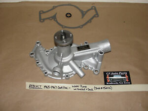 REBUILT 65-67 Cadillac 429 ENGINE WATER PUMP - 2 OUTLETS WITH GASKET AND SEAL