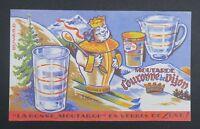 BUVARD Le bonne moutarde Couronne de Dijon crowned Krone Blotter Löscher