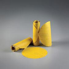 "Norton 6"" DA Gold Reserve PSA Sandpaper 100ct Roll, Sticky Stick & Sand 320 Grit"