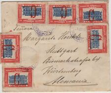 Cover Paraguay to Germany, 1925 Overprint