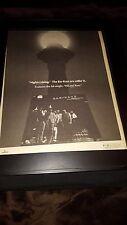 Bar-Kays Nightcruising Rare Original Promo Poster Ad Framed!