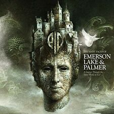 MANY FACES OF EMERSON,LAKE AND PALMER 3CD The Nice, Atomic Rooster  NEW+