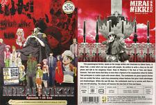 DVD ANIME Mirai Nikki Vol.1-26 End + OVA English Dubbed All Region + FREE ANIME