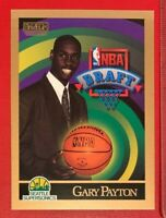 NBA GARY PAYTON Supersonics Skybox 1990-91 NBA Draft ROOKIE Trading CARD #365