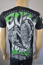 New Affliction Iron Horse Chopper American Motorcycle Evil Spirit Shirt Sz Small