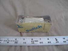 1 New Eagle 6601v Box Decorator Single Pole Rocker Switch 15a Usa