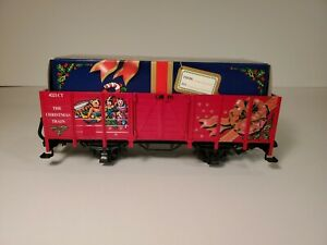 LGB 4021CT Christmas Gondola With Gift Box Load