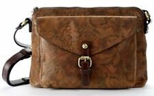 Patricia Nash Women's Napa Etched Floral Collection Avellino Cross-Body Bag