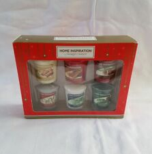 SALE ❀ڿڰۣ❀ YANKEE CANDLE HOME INSPIRATION Christmas Fragrance VOTIVE CANDLE Set
