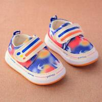 Toddler Kids Baby Boys Girls Soft Sole Crib Shoes Sneakers Newborn Casual Shoes
