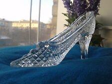 crystal slipper Cinderella Russian crystal storage bijouterie wedding decoration