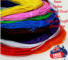 1MM Beading Elastic Stretch Cord Beads Cord String Strap Rope Bead 10 meters