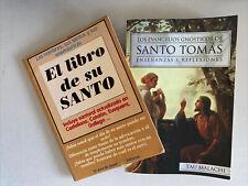 Religion : El Libro De Su Santo y Los Evangelios Gnosticos De Santo Thomas