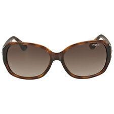 Vogue Dark Havana Square Sunglasses