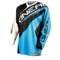 O'Neal Element Jersey RACEWEAR Trikot Blau Motocross Mountainbike Enduro Shirt