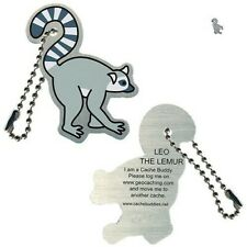 Leo the Lemur Travel Tag Geocaching Tb Trackable