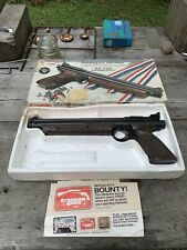 Crosman 1322 Pellet Pistol w/Box VTG