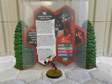 Heroscape Custom Harley Quinn w/ Bomb Double Sided Card & Figure w/ Sleeve DC