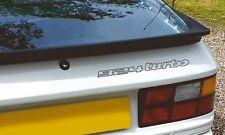 924 Turbo rear decal in BLACK - Genuine high quality & original size