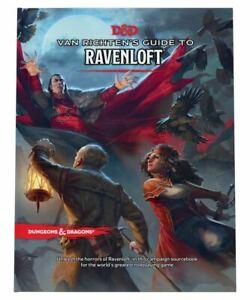 DUNGEON & DRAGON Van Richten's Guide to Ravenloft Hard Cover NEW