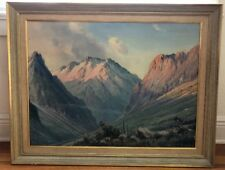 F. Vial (Chilean, late 19th/early 20th century) Chilean Landscape oil painting