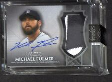 2017 Topps Dynasty Patch Autograph #AP-MF8 Michael Fulmer No 1 of 10