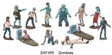 Safari 1/32 set of Zombies, factory painted 12 toy figures