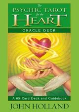The Psychic Tarot for the Heart Oracle Deck by John Holland (2014, UK-Paperback)