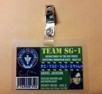 Stargate Command ID Badge - Team SG-1 Daniel Jackson  prop costume cosplay