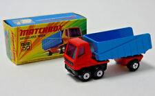 No.50 Matchbox Superfast Lesney Articulé Camion Rouge et Bleu 1:64 Echelle