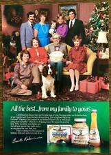 1984 Orville Redenbacher Popping Corn Christmas PRINT AD From My Family to Yours
