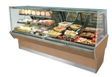 hussmann service bakery case Q3-Dv-22.5 4 Ft. 4 Units New In Crate Med Temp