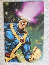 "1993 Wizard Cyclops (Stryfe on Back) (JoeJusko Art) Poster 6 1/2"" X 10 1/4"""