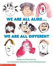 📚Handmade Bilingual WE ARE ALL ALIKE, DIFFERENT Todos somos iguales, diferentes