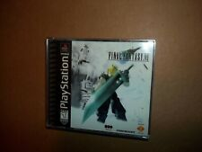 Final Fantasy VII 7 PS1  black label complete squaresoft