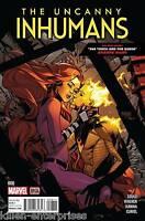 The Uncanny Inhumans #8 Comic Book 2016 - Marvel