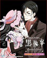 DVD Anime Black Butler Kuroshitsuji Complete Series Season 1-3 + 9 OVA English*