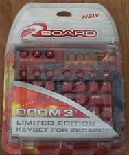SteelSeries Doom 3, Limited Ed Gaming Keyset for Zboard - NEW