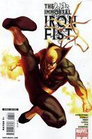 Immortal Iron Fist #27 Marvel Comics 2006 Variant Marko Djurdjevic Cover NM 70th