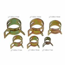 60pcs 7-17Mm Strong Spring Clips Oil Vacuum Fuel Line Hose Clamps Assorted Kits