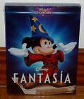 FANTASIA-CLASICO DISNEY Nº 3-DVD-NUEVO-PRECINTADO-NEW-FUNDA DE CARTON-SLIPCOVER
