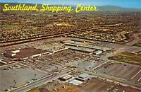 CA Hayward 1960s SOUTHLAND SHOPPING CENTER Aerial View postcard B29