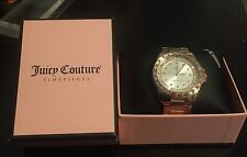 Juicy Couture Women's Charlotte Crystal Stainless Steel Watch $275 Retail