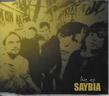 SAYBIA - Live EP CD SINGLE 6TR Enh (Medley Records) 2003 Denmark