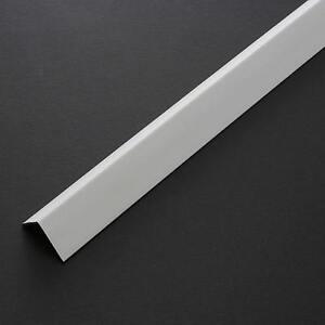 PROFILO ANGOLARE PARASPIGOLO IN PLASTICA PVC BIANCO 20X20 H 2,60