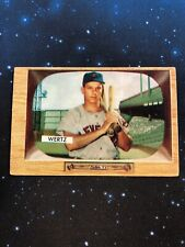 1955 Bowman #40 Vic Wertz Indians G/VG