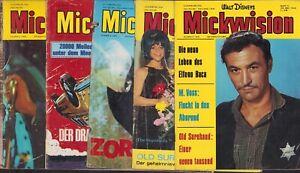 Mickyvision (Ehapa, 1962-1977,1.Serie) Nr.7-11 (1966)